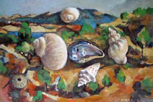 Cezanne with Shells